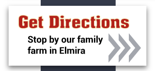 Get directions, stop by our family farm in Elmira
